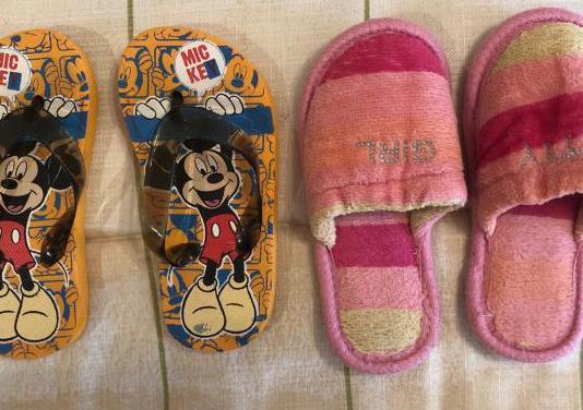 Lote zapatos niña número 24