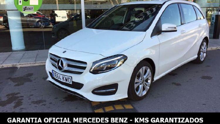 Mercedes-benz clase b 200 d 7g-dct urban, garantia oficial,