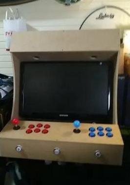 Maquina arcade casera