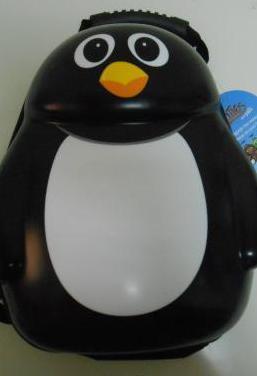 Mochila niño/a pingüino nueva