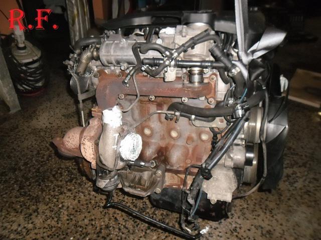 Motor tipo f1ce0481h del iveco daily 3.0hpi, 180cv año
