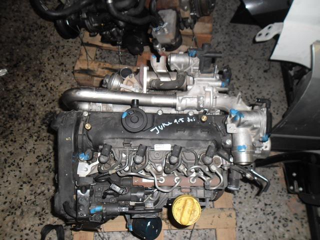 Motor tipo k9k b410 nissan juke 1.5 dci de 110cv.