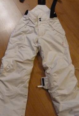 Pantalon esqui niño, talla 10