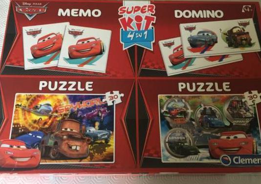 Puzzles y dominó película cars