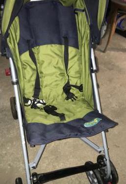 Silla de paseo bebé plegable