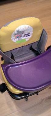 Trona plegable/portátil para bebé