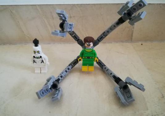 Lego superheroes doctor octopus y tigre blanco