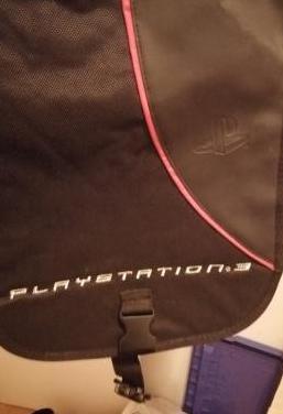 mochila transportadora para ps3
