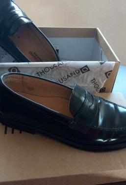 Zapatos t 34 azul comunion