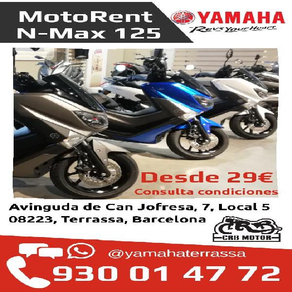 Alquiler scooter yamaha n-max 125