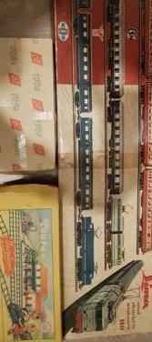 Antiguo tren eléctrico.