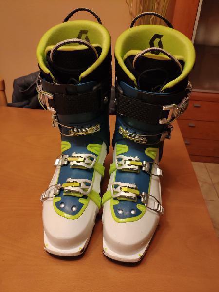 Botas esquí travesía scott superguide carbon gtx
