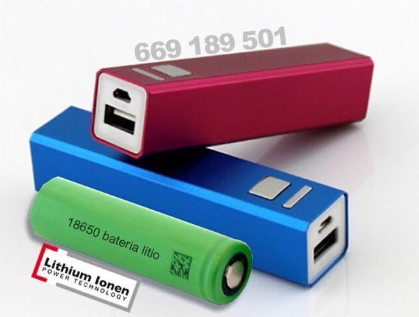 Cargador portatil para telefono movil, mp3, camara, tablet,