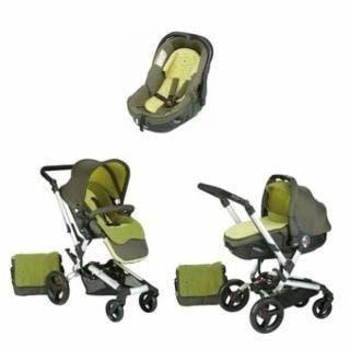 Carro bebe jane rider transporter verde