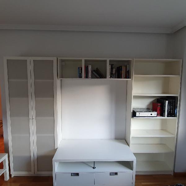Conjunto muebles salón, compuesto por 4 muebles