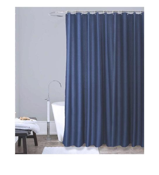 Cortina ducha 180x180cm azul nueva