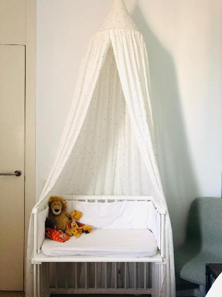 Cuna colecho babybay con accesorios