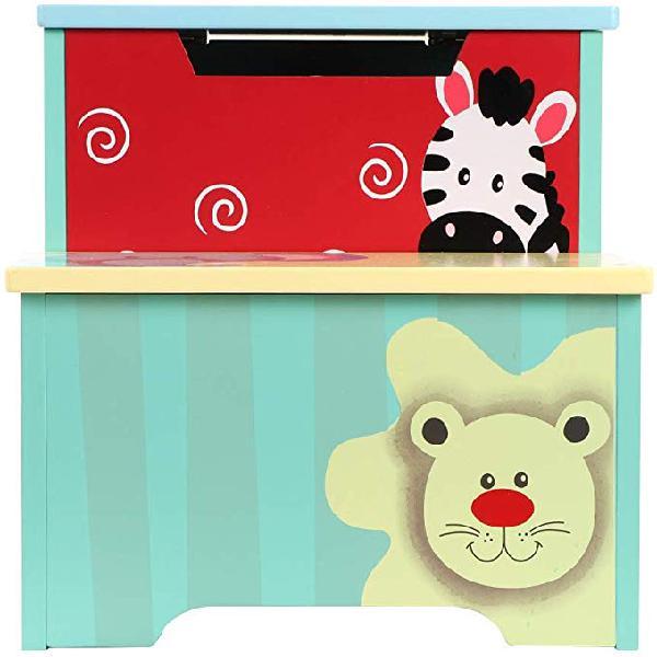 Ebtools caja de almacenamiento para juguetes, baúl