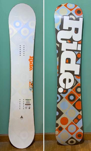 Equipo snowboard ride