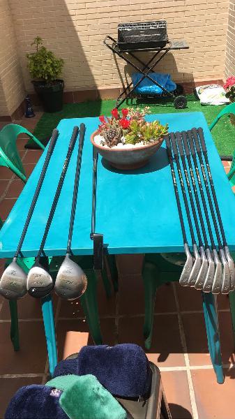Equipo completo golf mcgregor m801 grafito
