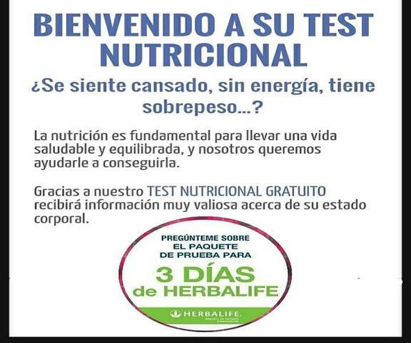 Estudio nutricional gratuito