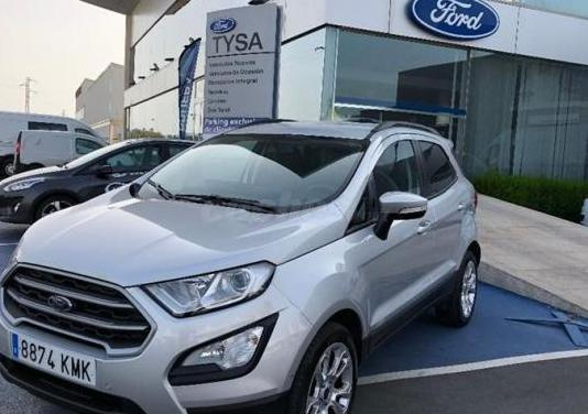 Ford ecosport 1.0l ecoboost 92kw 125cv s s trend