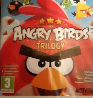 Juego nintendo angry birds