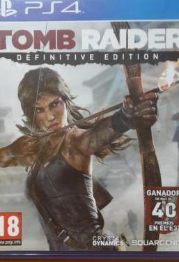 Juego ps4 tomb raider definitive edition