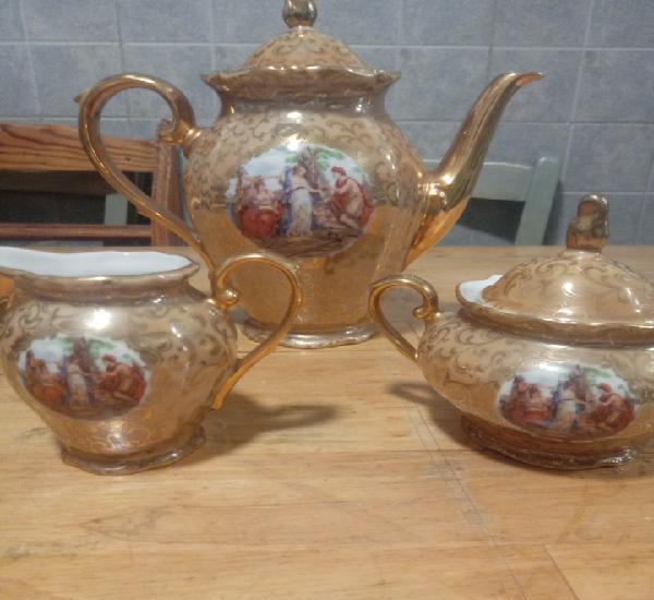 Juego de cafe ceramica alemana