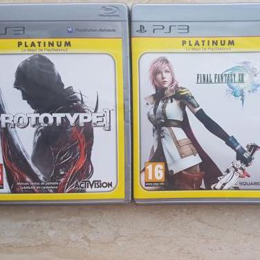 Juegos PS3 Prototype y FFXIII