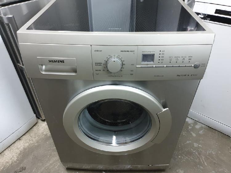 Lavadora siemens inox 7 k 1000 rpm a+ garantia