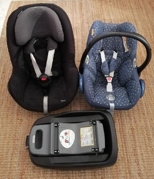 Maxicosi, silla bebé confort pearl y base isofix