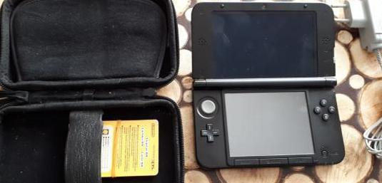 Nintendo 3ds xl azul negro