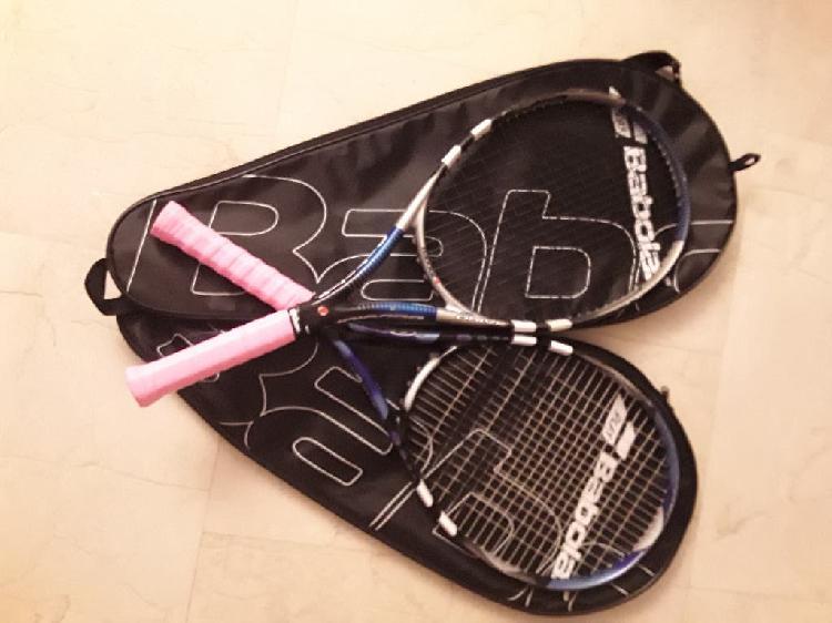 Pack dos raquetas tenis