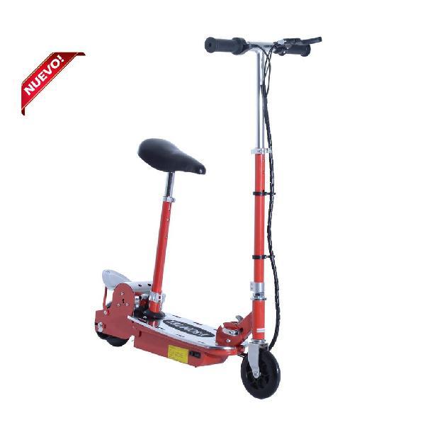 Patinete eléctrico scooter plegable con asiento aj