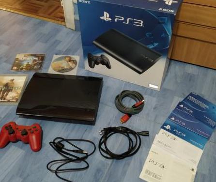 Playstation 3 super slim 320 gb. como nueva