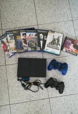 Playstation2 8 juegos 2 mandos
