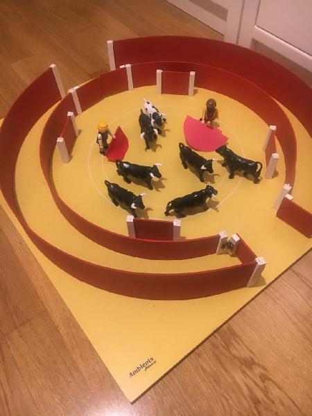Plaza de toros playmobil