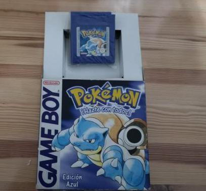 Pokemon azul game boy