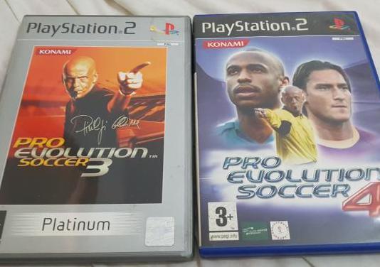 Pro evolution soccer 3 y 4 play 2
