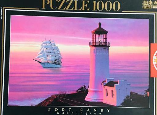 Puzzle faro 1000 piezas