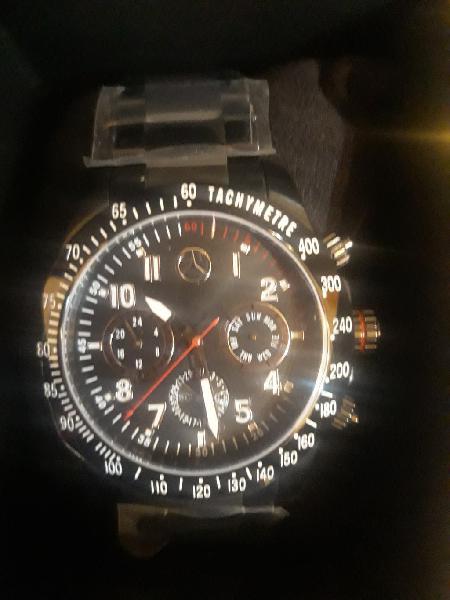 Reloj pulsera original mercedes benz de caballero