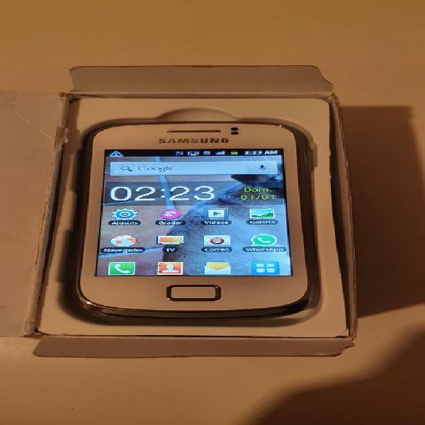 Samsung galaxy mini 2 blanco usado
