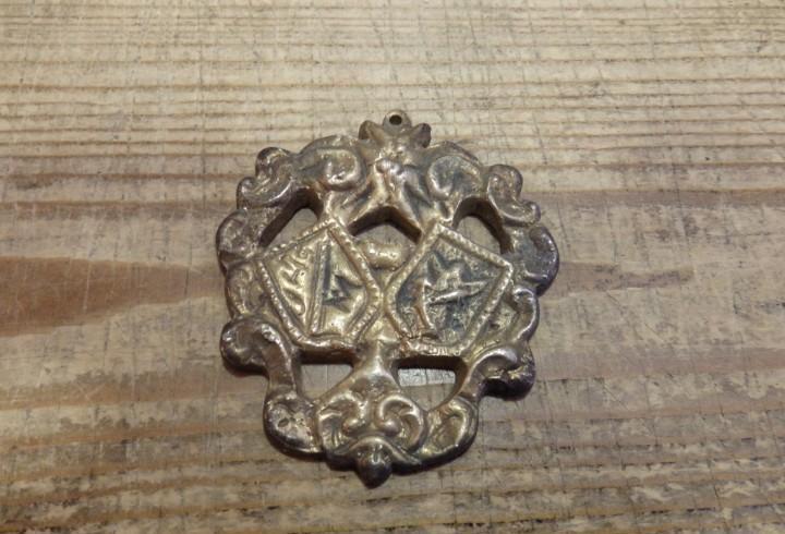 Siglo xix, semana santa sevilla o provincia, medalla a