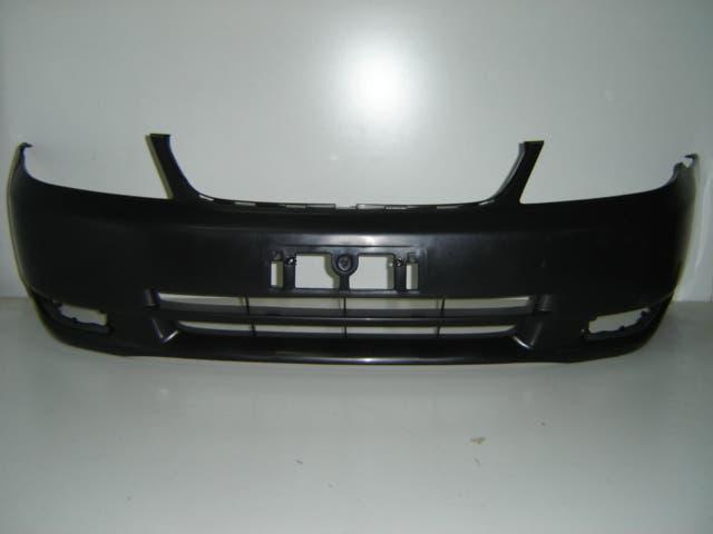 Toyota corolla 2002 2004 paragolpes frontal negro