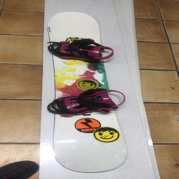 Tabla snowboard salomón 135cm