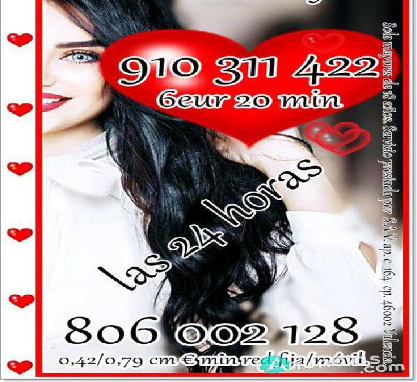 Tarot del amor 910 311 422 visa desde 4eur15 min
