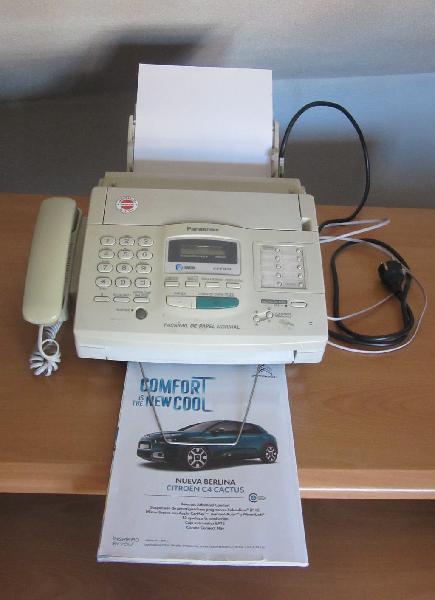 Teléfono, fax y contestador