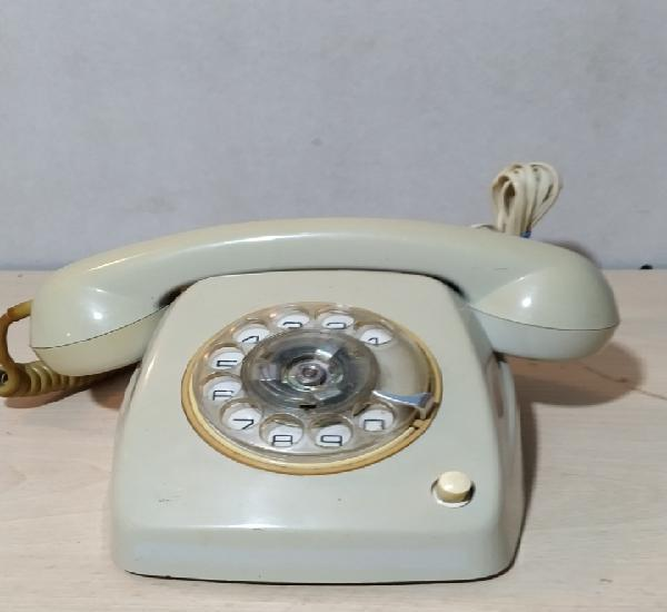 Teléfono heraldo con botón de transferencia - años 70