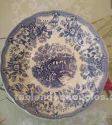 Vajilla de porcelana ironstone tableware de 40 piezas
